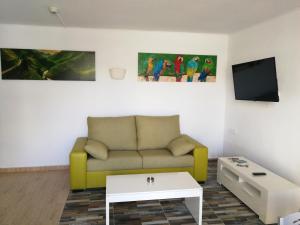 Area soggiorno di Huella Canaria