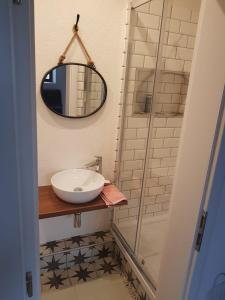 Kúpeľňa v ubytovaní Apartment Dubnica Prejta