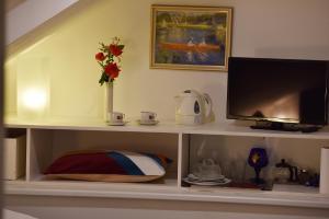 TV/Unterhaltungsangebot in der Unterkunft A. V. Pension Praha