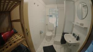 Ein Badezimmer in der Unterkunft Ferienhaus Lenartz
