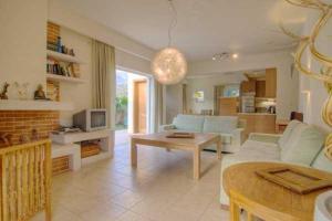 Χώρος καθιστικού στο Villa Alkisti & Villa Artemi