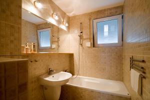 A bathroom at CertApart