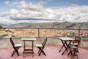 Un balcón o terraza de Departamentos Santa Ana Barrio Tradicional