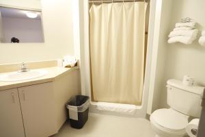 A bathroom at Résidences de l'Université d'Ottawa | University of Ottawa Residences