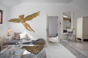 Гостиная зона в Villa Cissa Apartments by Irundo