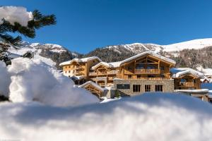 Residence Anitea in de winter