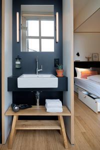 Salle de bains dans l'établissement Zoku Amsterdam
