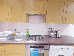 ครัวหรือมุมครัวของ Lavender at Netherwood Road