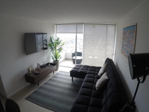 Una televisión o centro de entretenimiento en Edificio bulnes labbe