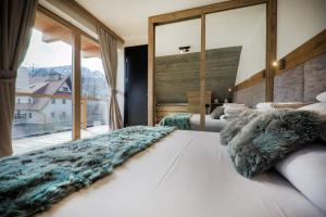 OLI Apartments-Bertolli v zimě