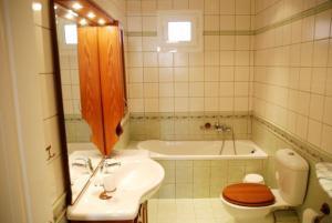 A bathroom at Tsiolis Studios & Apartments