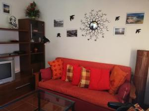 A seating area at O Meu Refugio