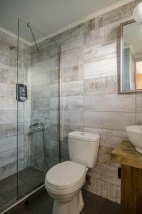 Ένα μπάνιο στο Ξενοδοχείο Νηρέας