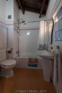 Koupelna v ubytování Bella 's House 3