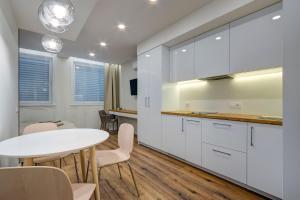 Vonios kambarys apgyvendinimo įstaigoje Gyneju - Apartaments in Vilnius Business Center
