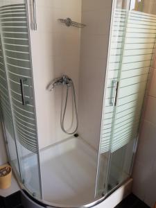 A bathroom at Epi Apartments