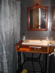 A bathroom at Canto do Melro