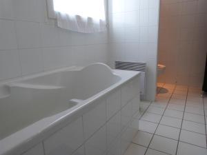 A bathroom at Chez Grace