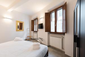 Cama o camas de una habitación en Flospirit apartment