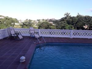 The swimming pool at or near Bonne View Villa