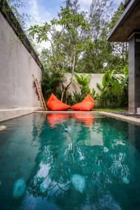 The swimming pool at or near La Isla Villas Bali