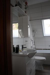 O baie la Ferienwohnung Neumann