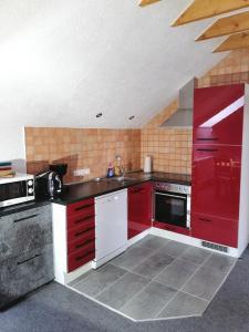 Küche/Küchenzeile in der Unterkunft Apartment Kraemer Dax