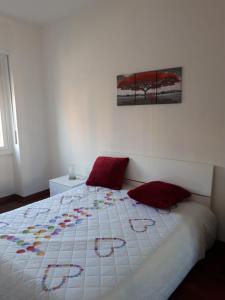 Letto o letti in una camera di Valassina milano apartment