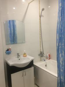 Ванная комната в Апартаменты на Самолете