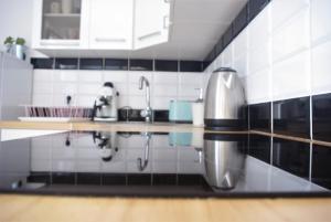 Łazienka w obiekcie Apartament na Szczytnej - free PARKING