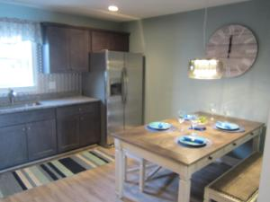 A kitchen or kitchenette at Gorgeous Brand New No End 3 Bdrm Townhouse with Stunning Views