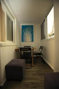 A seating area at Elena Apartments