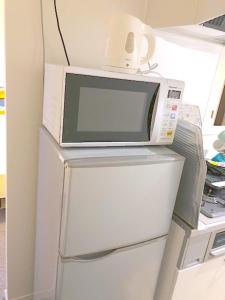 A kitchen or kitchenette at [NEW]Fukuoka best location room2/ 天神駅から電車で2分!!