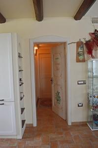 A bathroom at Domus Mori