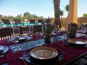 A restaurant or other place to eat at Casa Ibiza