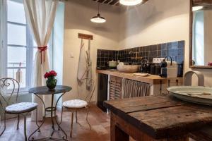 Cuisine ou kitchenette dans l'établissement Gris Piedra Home