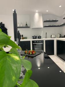 A kitchen or kitchenette at Studios Panos