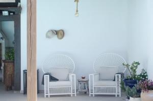 A seating area at Villa Nazoly