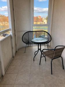 A balcony or terrace at Apartament F&J #12