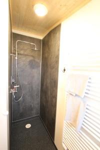 A bathroom at Blue View Cabin 7B