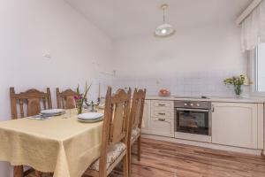 Kuhinja oz. manjša kuhinja v nastanitvi Apartment Nansy