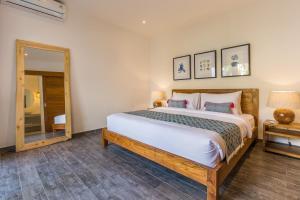 Кровать или кровати в номере Villa HOI
