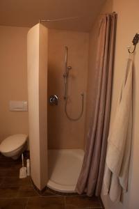 Ein Badezimmer in der Unterkunft Ferienwohnung Laurent