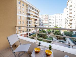 A balcony or terrace at Apartment