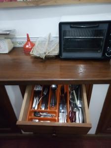 Kjøkken eller kjøkkenkrok på Diamond home 10