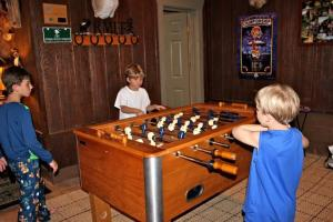 Children staying at Bungalow at Crying Eagle Lodging Company