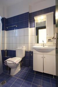 חדר רחצה ב-Koronisia Apartments