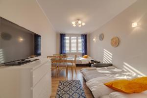 A television and/or entertainment center at Dream Loft Krosna