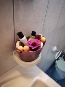 A bathroom at Sirines