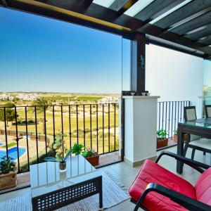 Two-Bedroom Luxury Apartment on Hacienda Riquelme Golf Resort